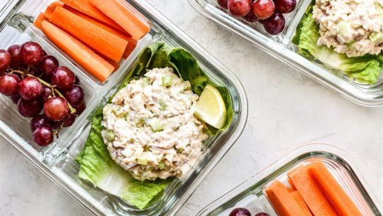Salades als koolhydraatarme lunch